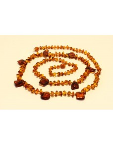 Adult amber necklace LN6