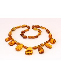 Adult Baltic amber necklace MA14