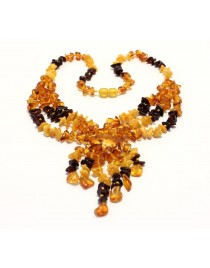 Adult amber necklace BA80