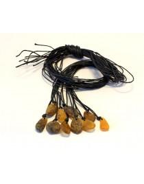 10 items Baltic Amber pendants P57
