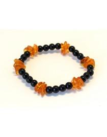 Baltic amber &agate BM152