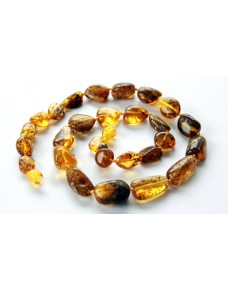 Adult Baltic amber necklace GA2