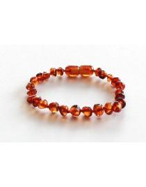 baby teething amber bracelet