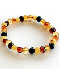Adult amber bracelet