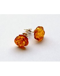 Honey Baltic Amber Earring