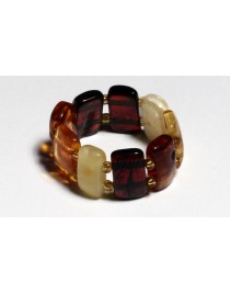 Multi Baltic Amber ring