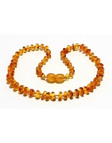 Honey Nuggets Baby Ttething Baltic amber necklace RBT14