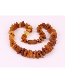 RAW Baltic Amber Necklace for Pet FP4