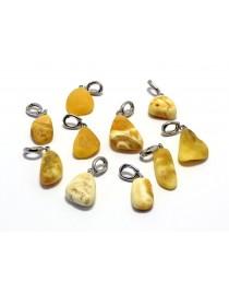 10 items Baltic Amber pendants P52